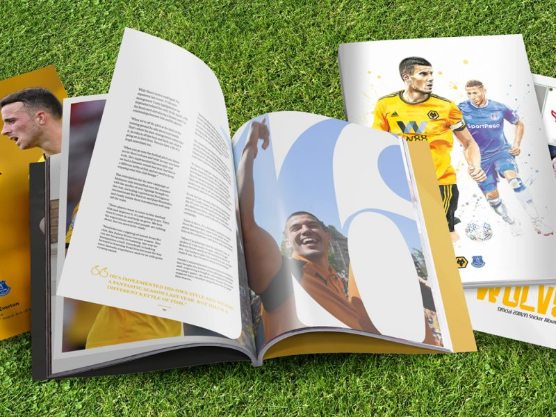 Wolves matchday programmes