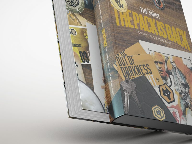 The Pack Is Back book design