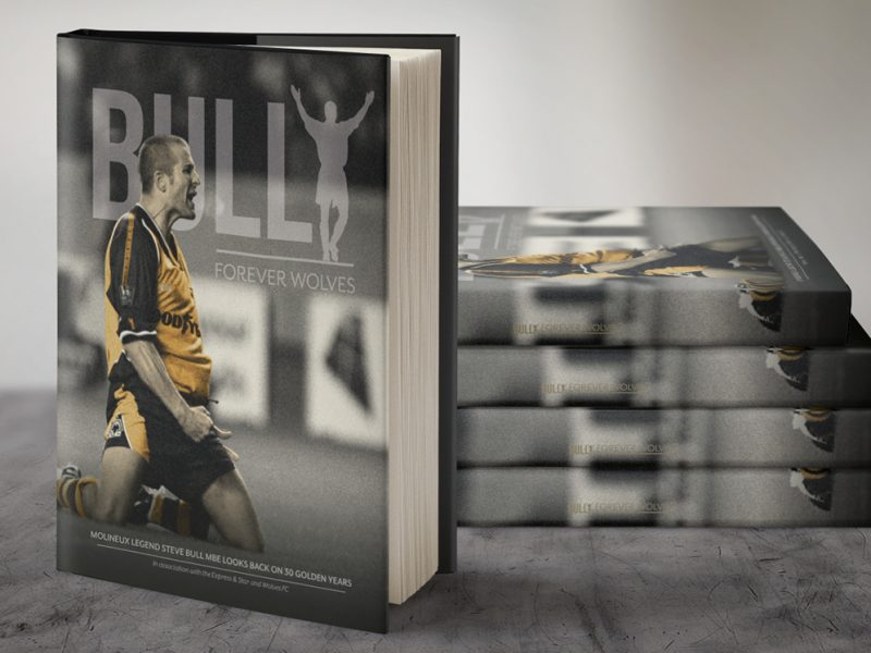 Steve Bull 30th Anniversary book design