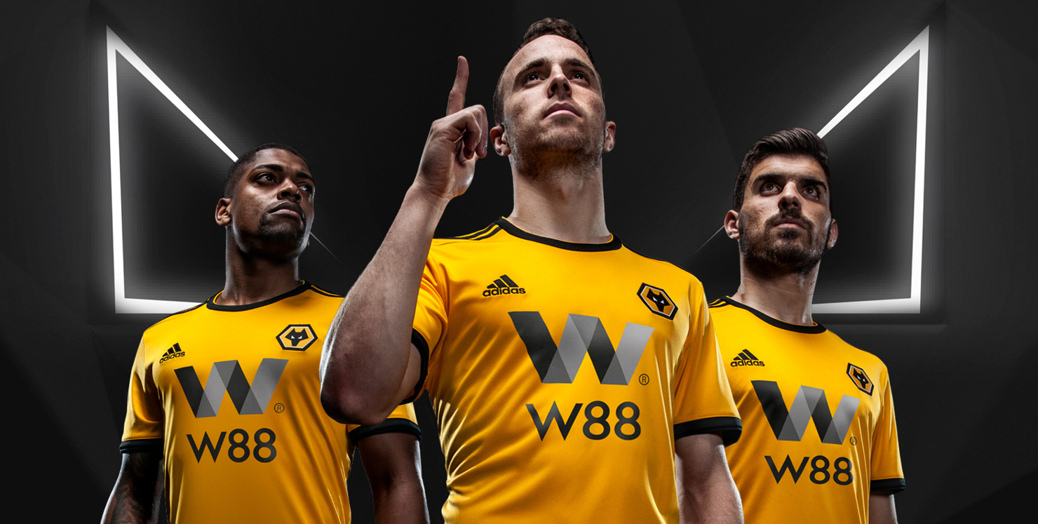 Wolves 2018/19 kit launch