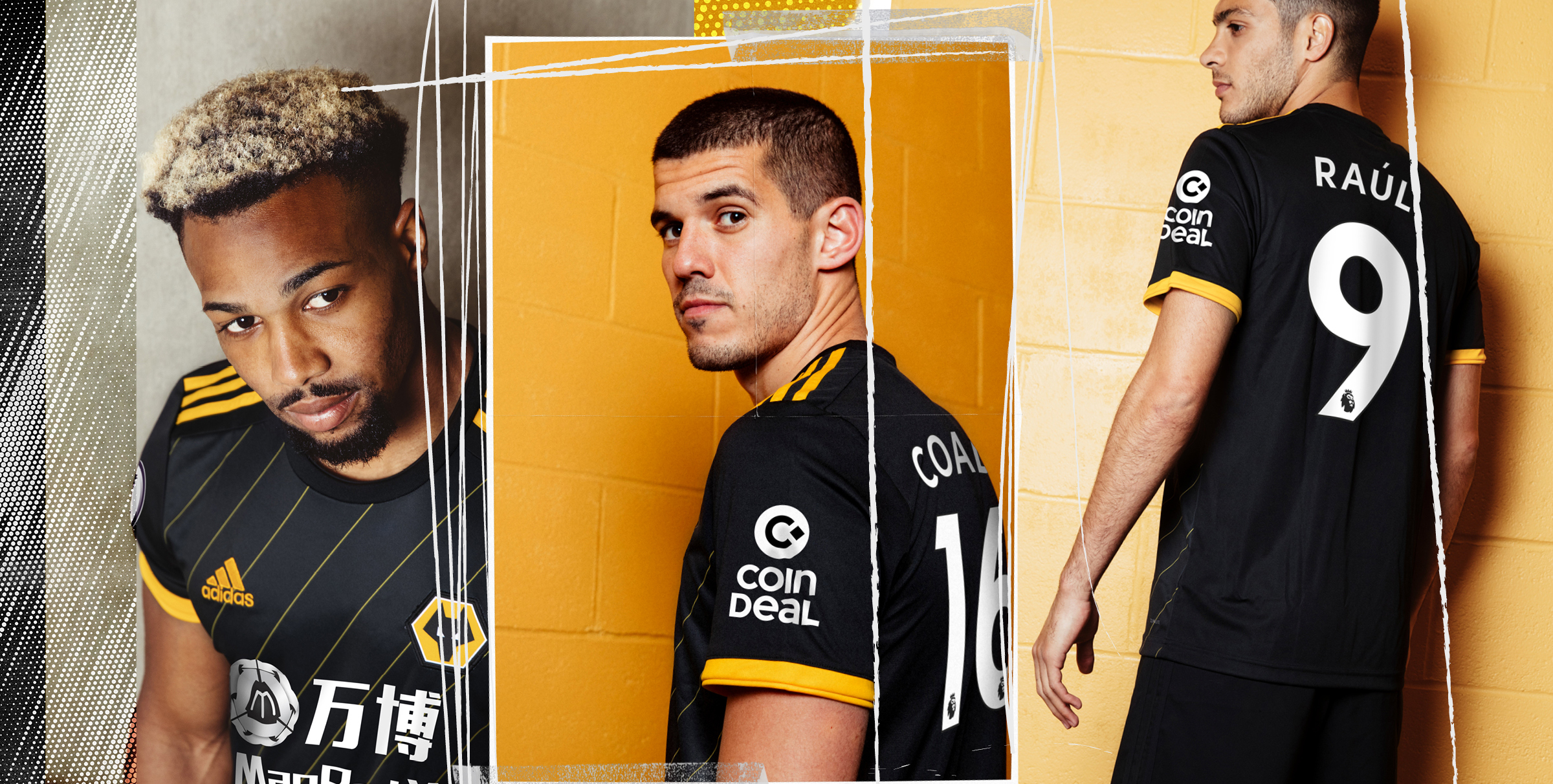 Wolves 2019/20 kit launch
